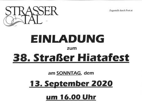 Hiatafest im Vinotheksgarten am 13.09.2020