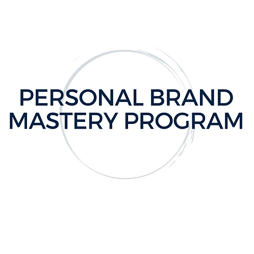 Personal Brand Mastery Program