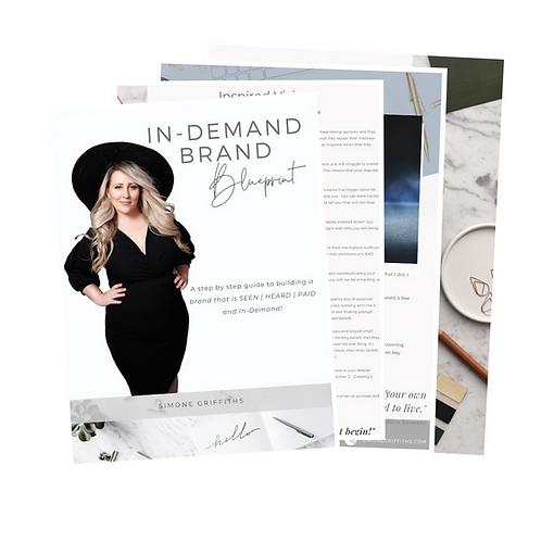 In-Demand Brand Blueprint