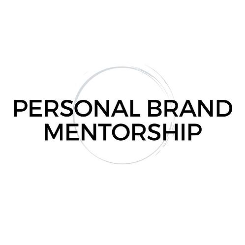 Personal Brand Mentorship Membership