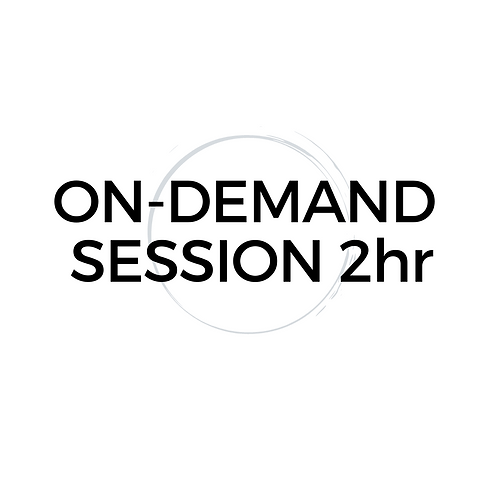On-Demand 2hr Mentor Session