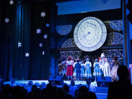 новогодний мюзикл «Минута до чуда»