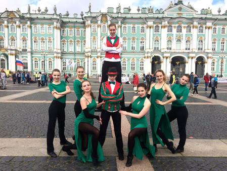 Снова на главной площади Петербурга!