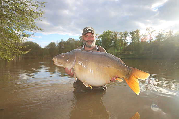 Big carp in france, Fishing in France at its best