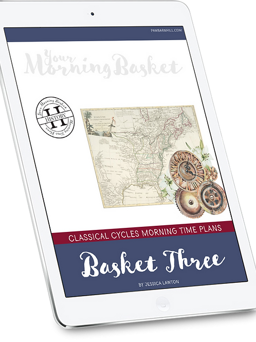 Classical Cycles Basket Three Morning Time Plans