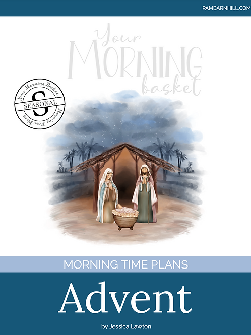 Advent 2020 Morning Time Plans