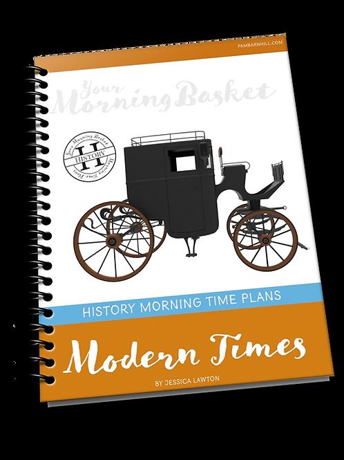 Modern Times Term 1 Morning Time Plans
