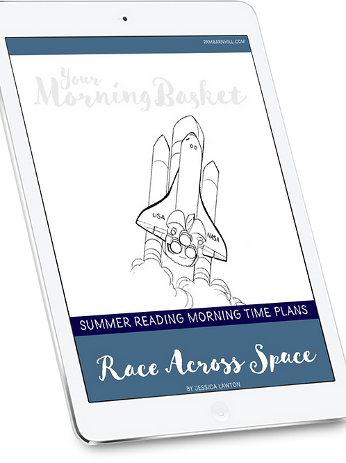 Race Across Space Morning Time Plans