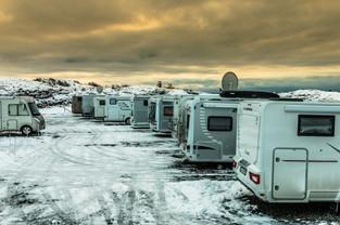Winter camping in Haugesund