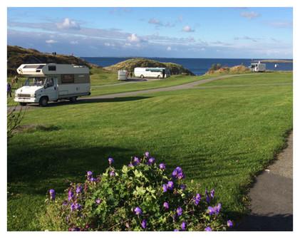 Bilde over camping området