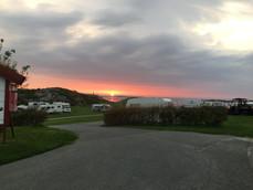 The all year campground in Haugesund