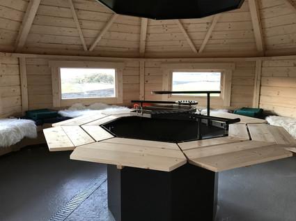 Grill cabin