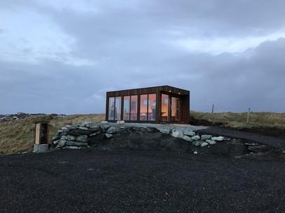 Glas cabin
