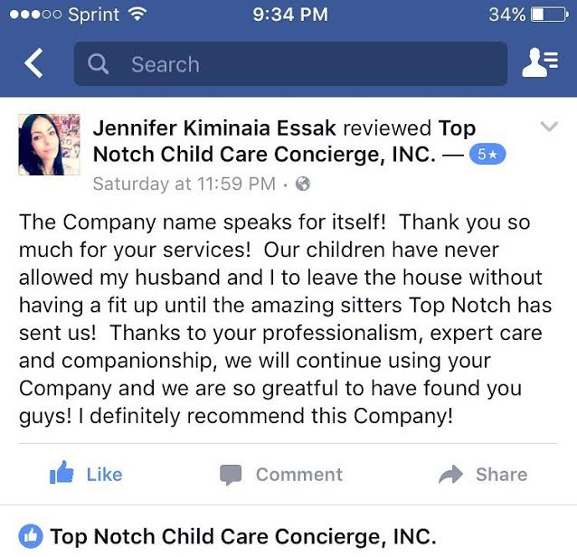 Babysitting & Nanny Service
