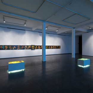 """2017 """"95 hypermanische Paraphrasen"""", Kunsthalle Recklinghausen"""