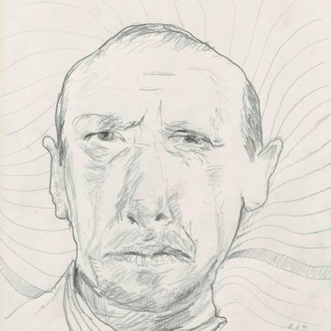 1999 Portrait mit attraktivem Hintergrund No. 5