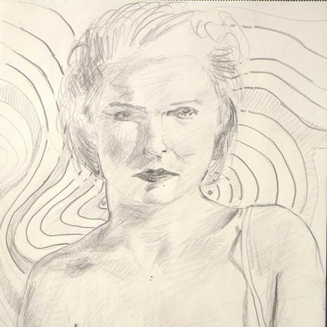 1999 Portrait mit attraktivem Hintergrund No. 6