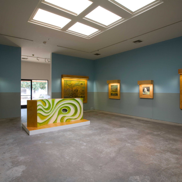 """2007 """"Willkommen herrliche Ideen - Welcome delicious ideas! 13 Heavily Framed Paintings and 2 Beautiful Sculptures"""", Christopher Grimes Gallery, Santa Monica"""