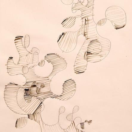 1998 Moderne abstrakte Komposition No. 1 (klassisch)