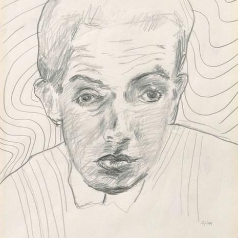 1999 Portrait mit attraktivem Hintergrund No. 2