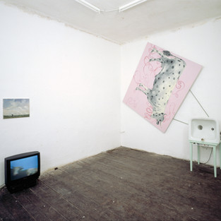 """1996 """"Her Masters Voice"""", Galerie Wohnmaschine, Berlin"""