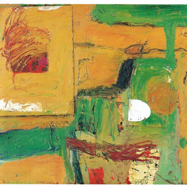 1989 Maler mit Bild