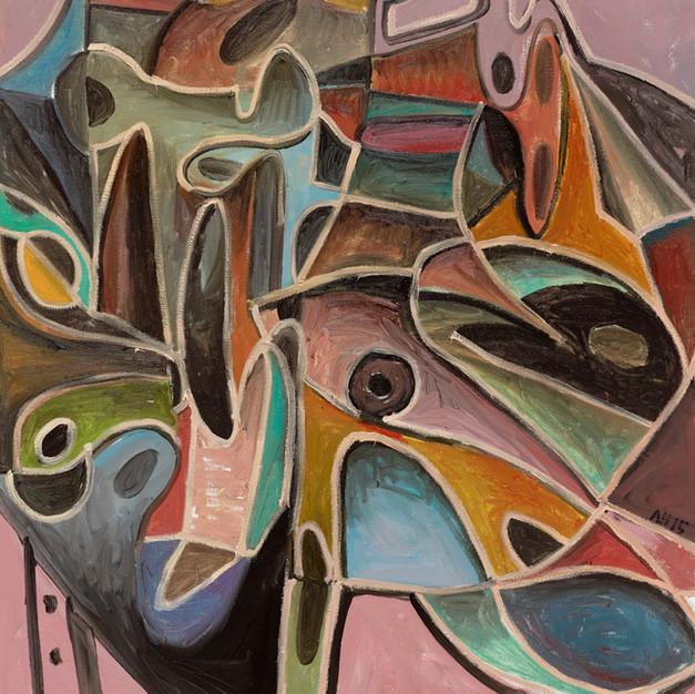 2015 Abstrakte Komposition No. 3