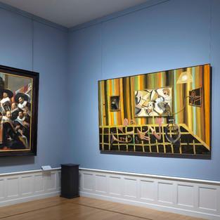 """2018 """"Rendez-Vouz met/with Frans Hals"""", Frans Hals Museum Haarlem"""