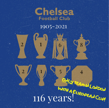 116 Years! One Team In London