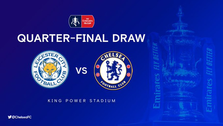 FA Cup 6th Round Away To Leicester - UPDATED