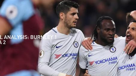 Tactical Analysis: Burnley 1 Chelsea 2