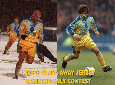 Members Only Contest For 97-98 Away Jersey
