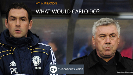 My Inspiration:  What Would Carlo Do?