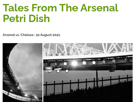 Tales From The Arsenal Petri Dish