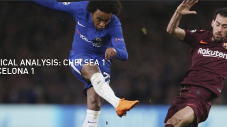 Tactical Analysis: Chelsea 1 Barcelona 1