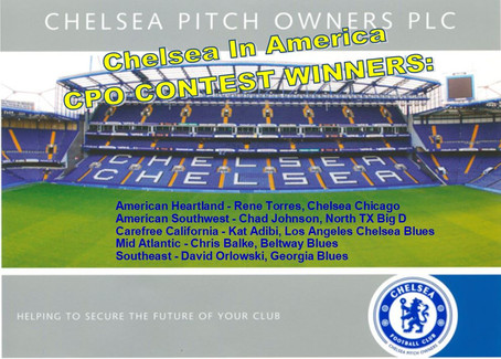 Chelsea Pitch Owners Member Contest Winners