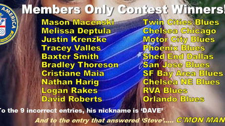 Members Only Contest Winners