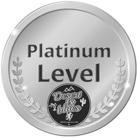 Desert Texas goes Platinum