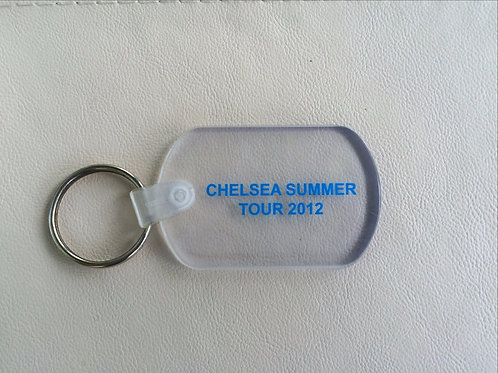 Clear Key Ring
