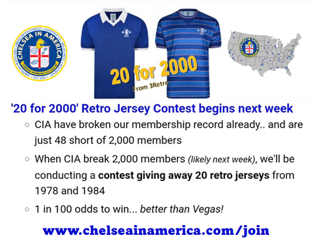 20 for 2000 Members Only Contest Coming