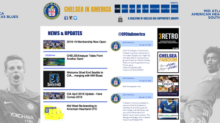 Welcome To The New CIA Web Site