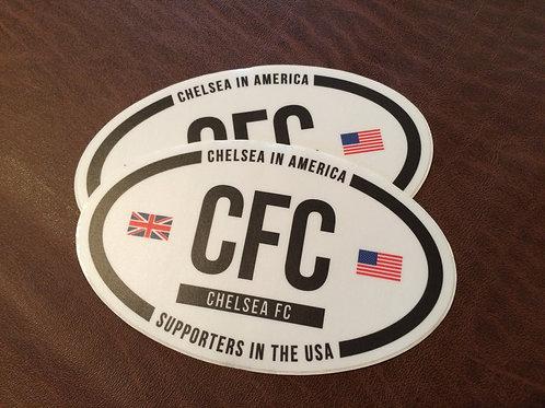 CIA USA Oval Sticker