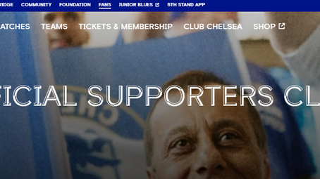 Join Your 'Free' Supporters Groups on Chelsea Web Site