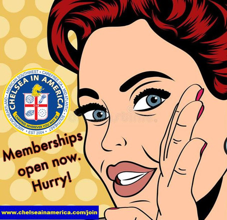 Membership Open (again)