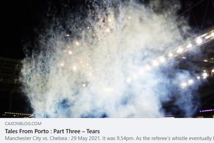 Tales From Porto: Part Three - Tears