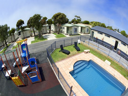 Outdoor Pool and Playground