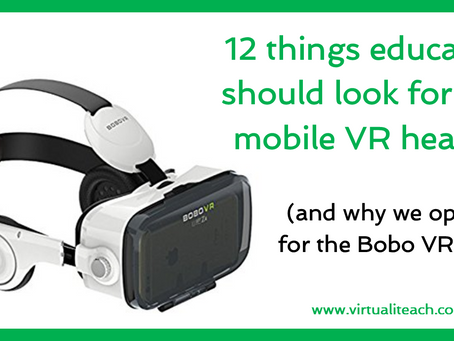 12 things to look for in a mobile VR headset
