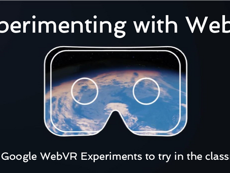 Experimenting with WebVR