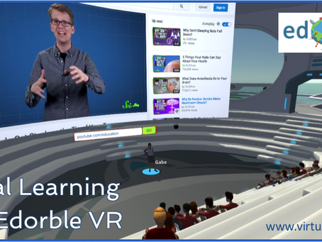Edorble VR offers social learning experiences