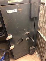 Locked Tann safe picked open in London